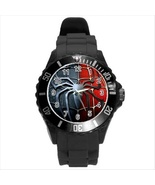 NEW* HOT SPIDERMAN LOGO Unisex Black Round Spor... - $18.95