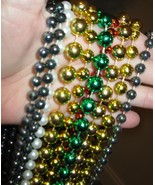 10 Pairs Authentic Mardi Gras Carnival Beads From New Orleans Parades NE... - $6.99
