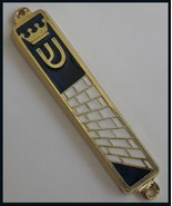 Jerusalem old city western wall Mezuzah Shin with crown design from Israel - £5.09 GBP