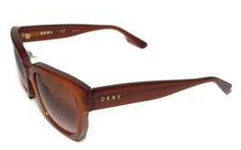 NEW DKNY Donna Karan New York Grandient Orange Sunglasses DY4145 + Case - $79.99