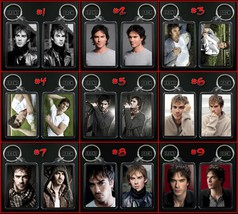 Ian Somerhalder Keychain / Keyring Choose From 9 Designs - $7.91