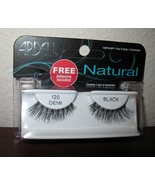 Ardell Natural Black Demi Eyelashes with Adhesive New! #T953 - $7.99
