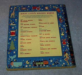 Quiz Fun #5024 Giant Little Golden Book 1959 A printing