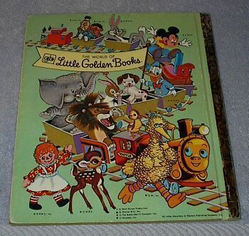 Woody Woodpecker at the Circus Vintage 1976 Little Golden Book Walter Lantz