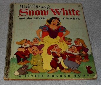 Little Golden Book  Snow White and Seven Dwarfs no.1