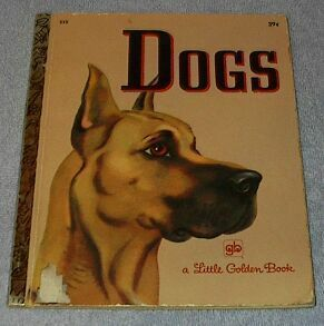 Dogs #532 Vintage 1972 Little Golden Book