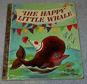 Little Golden Book  Happy Little Whale #393