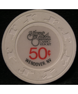"$0.50 Casino Chip From: ""Silver Smith Resort""- (sku#2304) - $8.25"
