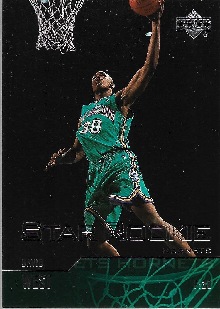 Primary image for David West Upper Deck 03-04 #318 Rookie Card New Orleans Hornets Warriors