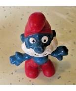 Vintage SMURFS Smurf PAPA mini PVC Figure toy - $5.99
