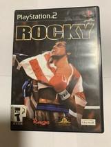 Rocky (Sony PlayStation 2, Black Label) - PS2 - $7.69