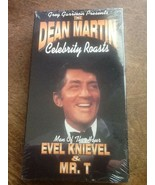 Dean Martin Celebrity Roasts Evel Knievel Mr. T NEW VHS Tape - $8.91