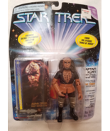1997 Star Trek Captain Kurn Action Figure NEW Playmates Paramount Pictures - $10.00