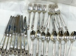 International Sterling Silver Royal Danish Flatware Place Settings For 8... - $3,584.78