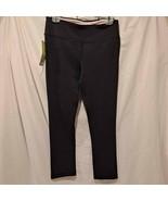 Marika Sport Womens Yoga Capri Leggings Black Stretch Pull On Pants S 4-... - $13.09