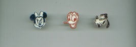plastic Disney Toy Rings Minnie Mouse/Daisy Duck/Goofy - $7.00