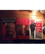 Set 3 Dr Phil McGraw Relationship Rescue Self Matters ultimate Weight So... - $12.97