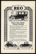 Reo 1922 Automobile Ad Coupe - $14.99