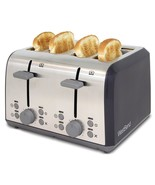West Bend 78824 Extra Wide Slot Toaster with Bagel Settings Ultimate Toa... - $68.21