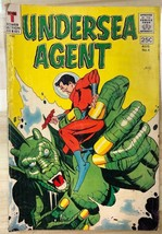 UNDERSEA AGENT #4 (1966) Tower Comics VG+ - $11.87