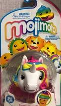 Mojimoto White Unicorn Rainbow Hair Animated TALK BACK Mojis New In Package - $12.86