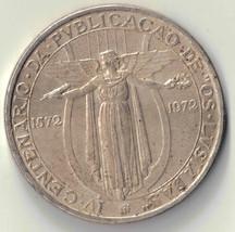 1972 50 ESCUDOS PORTUGAL SILVER COIN DBW - $8.99