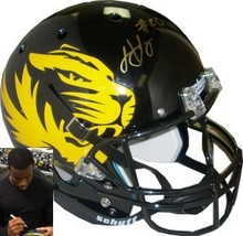 Henry Josey signed Missouri Tigers Full Size Replica Schutt Alternate He... - $98.95