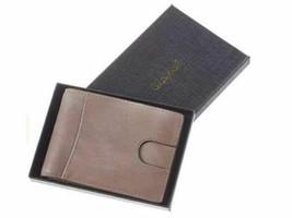 Men's Slim Wallet with Front Pocket, RFID Blocking, Light Grey image 1