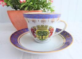 Cup And Saucer Demi Baumholder Germany Vintage Porcelain Teacup Istanbul Porcela - $14.00