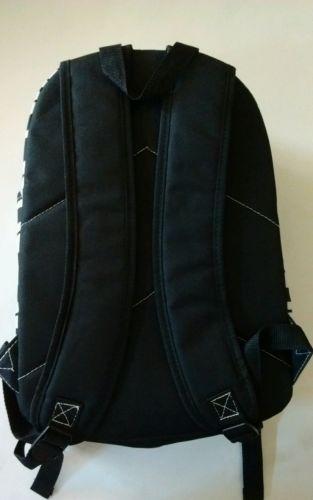 Black and White Stripe Backpack