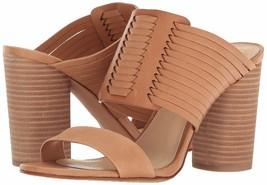 Women Vince Camuto Astar Woven Block-Heel Sandals, Size 9.5 Peanut VC-ASTAR Le - $99.95