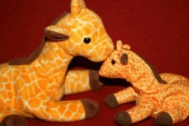 2 Ty Beanie Babies TWIGS + McDonalds Mini Giraffe 1993 Plush Stuffed Ani... - $8.37