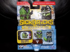 Sick Bricks Team 2 Pack Haz Matt Scuba Spy Sickbrick App Video Game Scan Brix - $16.80