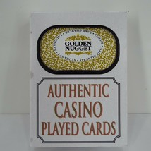 Golden Nugget Casino Used Playing Cards Man Cave Poker Room Night A - $9.99