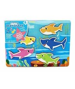 Pinkfong Baby Shark Chunky Wooden Sound Puzzle - Plays The Baby Shark Song - $18.80