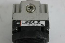 SMC AR2000-01 Modular Air Pressure Regulator Set Press 0.05-085Mpa Port size 1/4 image 2