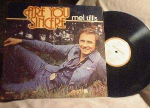 Mel Tillis - Are You Sincere - MCA 3077