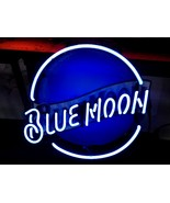 "Blue Moon Beer Bar Neon Light Sign 16"" x 16"" - $139.00"