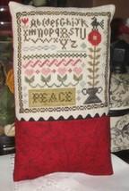 Li'l Abby - Peace cross stitch chart Abby Rose Designs - $7.20