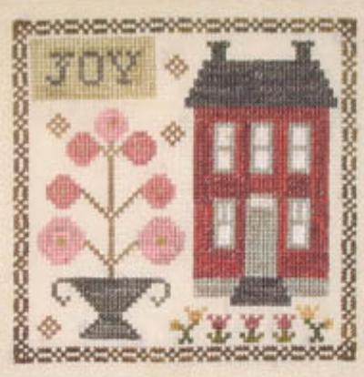 Li'l Abby - Joy cross stitch chart Abby Rose Designs