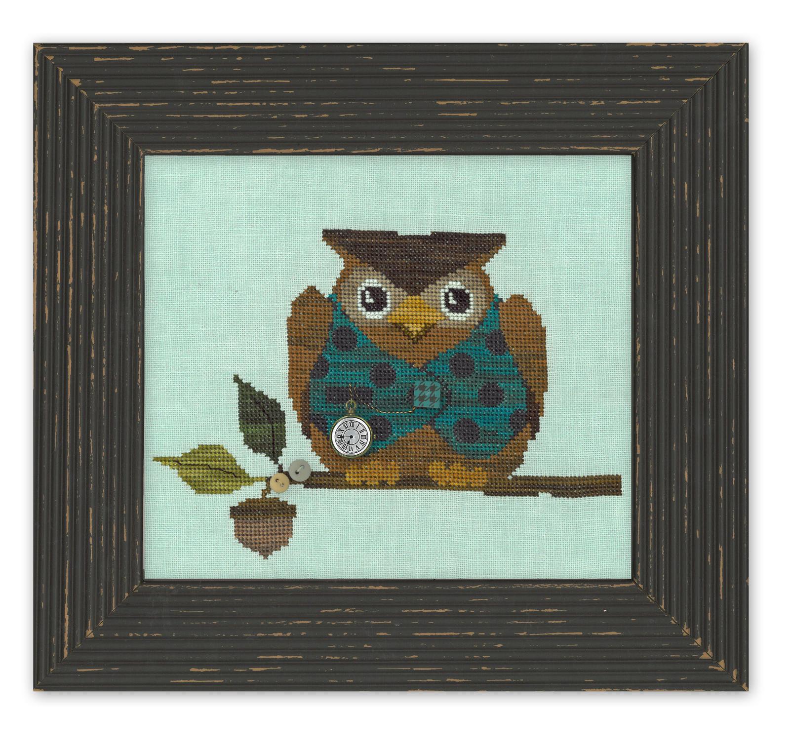Final owl in frame