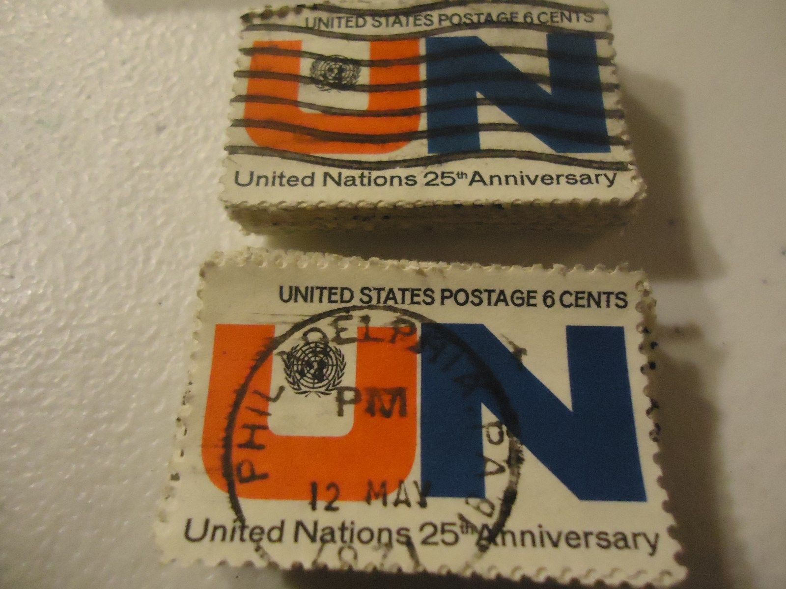 "Primary image for 1419 United Nations 25th Anniv. ""1970"" CV $25.00 - 100 pack"