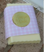 banana goats milk glycerin soap - $4.50