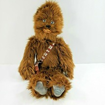 "Disney Store Exclusive Star Wars Chewbacca Plush Large 19"" tall - $67.72"