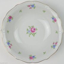 Forest China Rambler Pattern Coupe Soup Bowl Blue Pink Floral Flower Tab... - $6.99