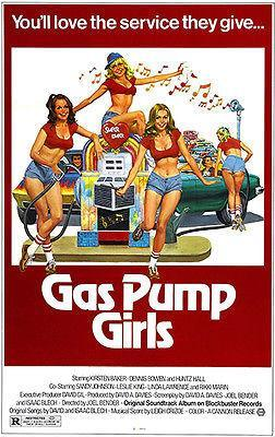 Primary image for Gas Pump Girls - 1979 - Movie Poster
