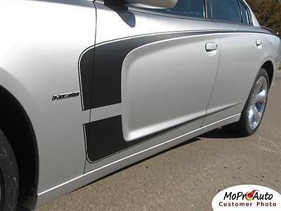 2012 Dodge Charger C-STRIPE Scallop Side Decals - Pro Grade 3M 749 Graphics