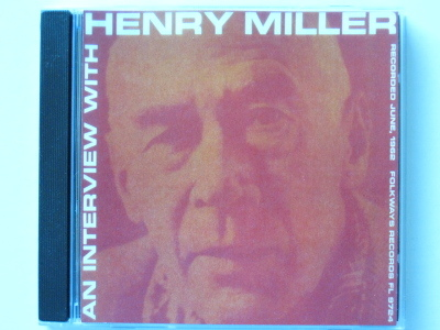 Henry miller interview cd lrg