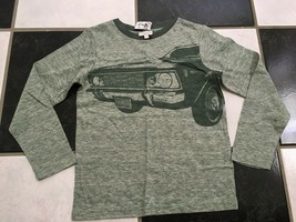 NWT 100% AUTH Gucci Kids Cotton Wool Blend Printed Car Long Sleeve T Shi... - $106.92