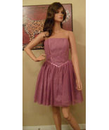 NWT BETSEY JOHNSON Lilac Lace & Sequin Dress Size 6 NEW (MAKE AN OFFER) - $197.01